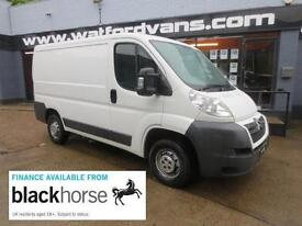2013 Citroen Relay 30 2.2HDi 110ps L1 H1 SWB Low Roof Diesel white Manual