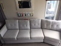 Large Grey 4-Seater Sofa (sofa bed) in Excellent Condition MUST GO QUICKLY