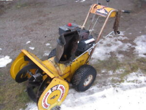 Canadiana 8 Hp 26 Inch Snow Blower