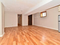 bright and spacious 1 bed + den