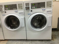 Coin operated washers, dryers, laundry supply & change machine