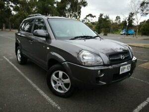 2007 Hyundai Tucson JM MY07 City SX Grey 5 Speed Manual Wagon