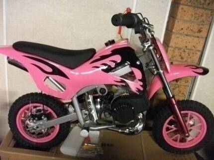 Dirt bike Girls 50cc kids peewee brand new