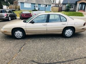 1998 Chevy Lumina V6. Low KMs Well maintained