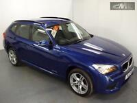 BMW X1 18D M SPORT xDRIVE 4x4, Blue, Manual, Diesel, 2012