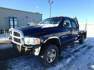 2004 Dodge Ram 3500 Cummings Diesel With Flat Bed Pickup Truck