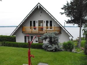 NEW PRICE! WATERFRONT CHALET FOR SALE - BAY OF QUINTE