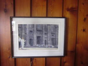 Hand Painted Framed picture of the Vatican in Rome Comox / Courtenay / Cumberland Comox Valley Area image 3