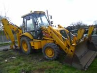 JCB 3CX SITEMASTER 1993 4X4, 4 IN BUCKET, EXTENDING BACK HOE, LOG BOOK PRESENT £13995 NO VAT