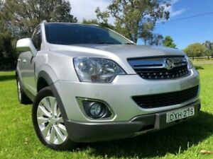 2014 Holden Captiva CG MY14 5 LT (FWD) Silver 6 Speed Manual Wagon Tuggerah Wyong Area Preview