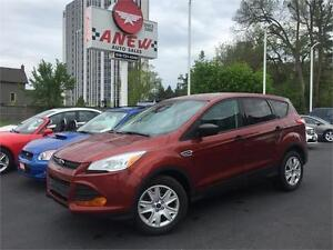 2014 FORD ESCAPE S - CERTIFIED - NO ACCIDENTS