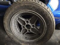 Mk2 ford escort rs2000 alloy wheel - can post