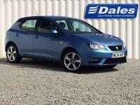 Seat Ibiza 1.4 Toca 5Dr Hatchback (blue (bahama)) 2014
