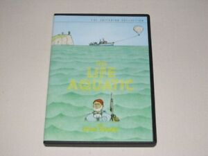 Criterion Collection DVD set - The Life Aquatic