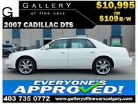 2007 Cadillac DTS 4.6l $109 bi-weekly APPLY NOW DRIVE NOW