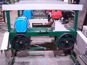 "BANDSAW MILL BAND SAW FARMHAWK STATIONARY MODEL 14 HP 24"" CAP Prince George British Columbia image 4"