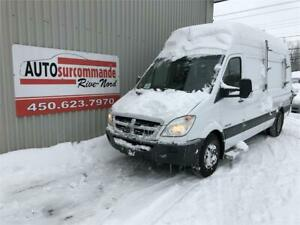 2009 Dodge Sprinter -- DIESEL --  HAUT/LONG -- GARANTIE 1 AN / 1
