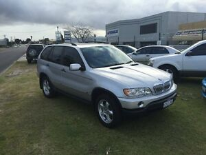 2002 BMW X5 E53 FULL BOOKS Silver 6 Speed Automatic Wagon Wangara Wanneroo Area Preview