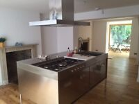 ArcLinea High End Kitchen Island Stainless Steel Unit - 2 year old