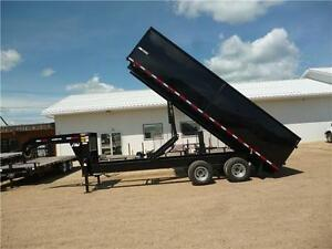 New 20ft Tandem Dual HD Gooseneck Dump -*$22,888.00 Tax In*-