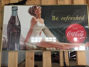Selling an Amazing Special&Rare Peace of Coca Cola,Marilyn Monro