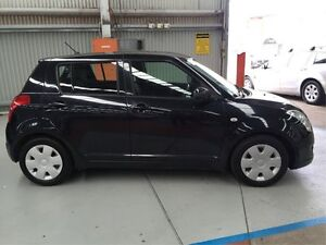 2010 Suzuki Swift RS415 Black 5 Speed Manual Hatchback Maryville Newcastle Area Preview