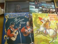 Various Scottish LPs including The Corries, McCalmans and others