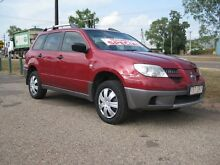 2005 Mitsubishi Outlander ZF MY06 LS Maroon 4 Speed Automatic + O/Drive Sportswagon Holtze Litchfield Area Preview