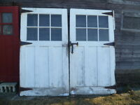 Antique, Vintage doors, French, Leaded glass, barn doors & more
