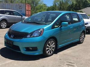 2013 Honda Fit SPORT-AUTO-1 0WNER-ONLY 42000KMS