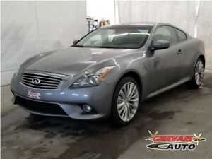 Infiniti G37 S Sport AWD Cuir Toit Ouvrant Audio BOSE MAGS **PN