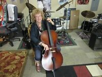 MUSIC LESSONS CELLO