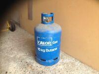 CALOR GAS, 15KG BUTANE GAS BOTTLE