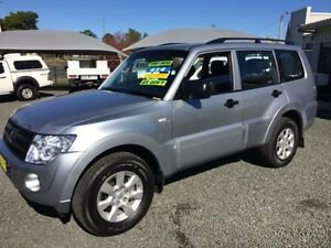 2012 Mitsubishi Pajero NW MY12 GLX LWB (4x4) Silver 5 Speed Auto Sports Mode Wagon Gloucester Gloucester Area Preview
