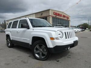 2015 Jeep Patriot 4X4 HIGH ALTITUDE, ROOF, LEATHER, 28K!