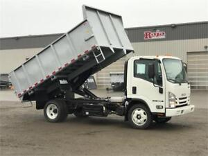 New 2018 Isuzu NRR 13FT DUMP BOX
