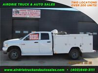 2008 Dodge Ram 3500 SLT 4X4 Crew Cab 9ft Mechanics Body Diesel