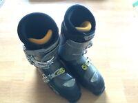 Salomon Ellipse 8.0 blue adult ski boots 29.5 UK 11.5