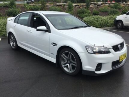 2012 Holden Commodore VE II MY12 SV6 White 6 Speed Sports Automatic Sedan Lisarow Gosford Area Preview