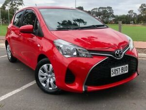 2014 Toyota Yaris NCP130R Ascent Red 4 Speed Automatic Hatchback Nailsworth Prospect Area Preview