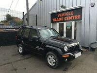 JEEP CHEROKEE 2.5 LIMITED CRD 5d 141 BHP (black) 2004