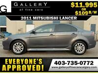 2011 Mitsubishi Lancer SE $109 BI-WEEKLY APPLY NOW DRIVE NOW