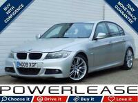 2009 09 BMW 3 SERIES 2.0 320D M SPORT 4D 175 BHP DIESEL