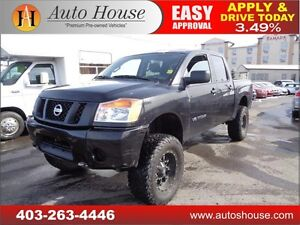 2014 Nissan Titan S LIFTED RIMS 4X4 90 DAYS NO PAYMENTS!