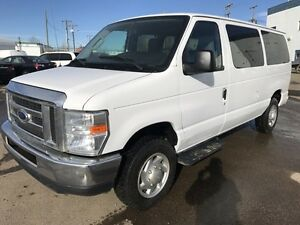 2012 FORD E350 12 PASSENGER VAN - FINANCING AVAILABLE