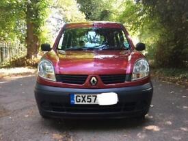 Renault Kangoo 1.6 16v AUTOMATIC DISABILITY VEHICLE WAV WHEELCHAIR ACCESS 27,000