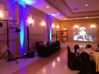 Wedding Uplighting Special Effects DJ Disc Jockey Windsor Essex