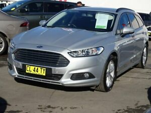 2017 Ford Mondeo MD 2017.50MY Ambiente PwrShift Silver 6 Speed Sports Automatic Dual Clutch Wagon Albion Park Rail Shellharbour Area Preview