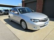 2009 Subaru Impreza MY10 RX (AWD) Silver 4 Speed Automatic Hatchback Holden Hill Tea Tree Gully Area Preview