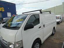 2008 Toyota Hiace KDH201R MY07 Upgrade LWB White 5 Speed Manual Van Homebush West Strathfield Area Preview